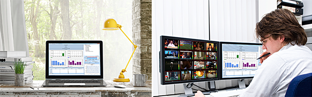 Monitor and control the system from work or the comfort of your home office.